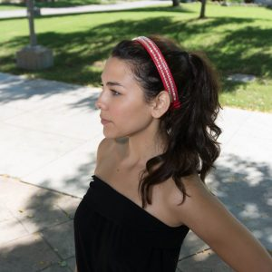 Edina Lady Leather Headband